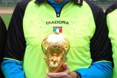 Carlo Longhi, arbitro del torneo.